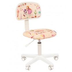 Vaikų kambario kėdė CHAIRMAN KIDS 101 Balta - Su princese