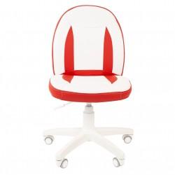 Vaikų kėdė CHAIRMAN Kids 122 Eco Balta - Raudona