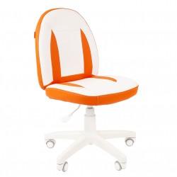 Vaikų kėdė CHAIRMAN Kids 122 Eco Balta - Oranžinė