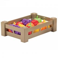 Vaisių Rinkinys Dėžutėje Smoby Ecoiffier