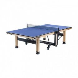 Varžybinis stalo teniso stalas Cornilleau 850 Wood ITTF Indoor - Blue