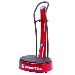 Vibro treniruoklis inSPORTline VibroGym Lotus (Vibro: 6-14. Vertical) - Red