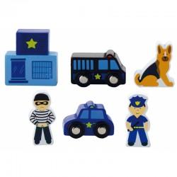 Figūrų Rinkinys - Viga  policija