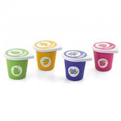 Viga mediniai jogurtai induose