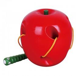 ''Viga'' medinis obuolio labirintas su kirminu