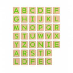 ''Viga'' medinių magnetinių raidžių rinkinys
