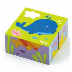 ''Viga Toys'' medinė jūros dėlionė