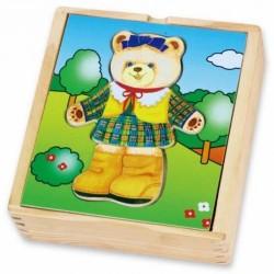 Aprengimo Dėlionė Viga Wooden Puzzle